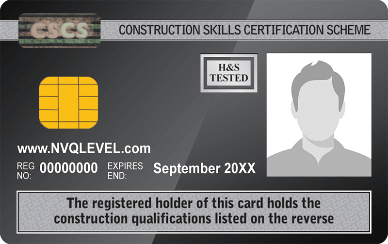Up Level Ltd - NVQ Level 6 CSCS Card