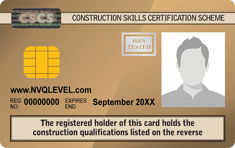 Up Level Ltd - NVQ Level 3 CSCS Card